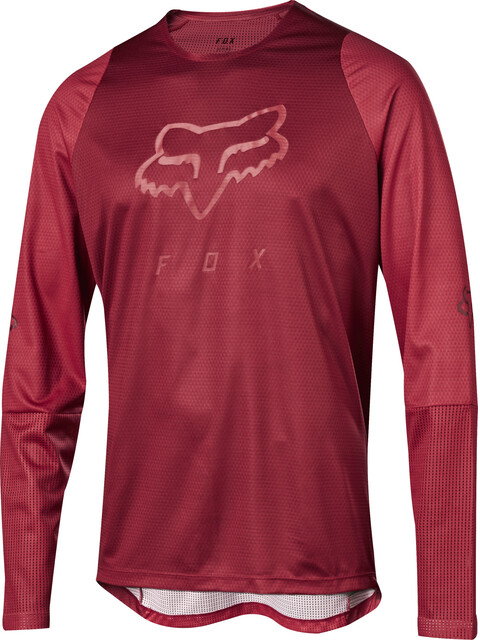 Fox Defend Foxhead LS Jersey Men cardinal